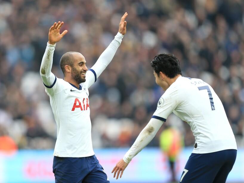 El Tottenham de José Mourinho venció 3-2 en el Estadio Olímpico de Londres a West Ham United. Son (36'), Moura (43') y Kane (49') hicieron el 3-0. Antonio (73') y Ogbonna (96') acercaron a los de casa.