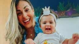 La hija de Ale Rivera 'La Jarocha' y la tierna forma en la que dice que cumplirá un año de edad