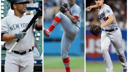 Jugadores a seguir en la postemporada de la MLB.