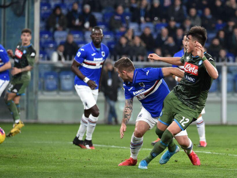 UC Sampdoria v SSC Napoli - Serie A