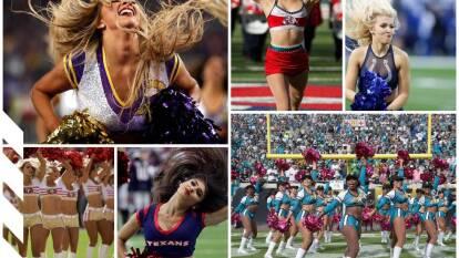 Sonrisas, alegría, ritmo y mucho color gracias a las cheerleaders del futbol americano.