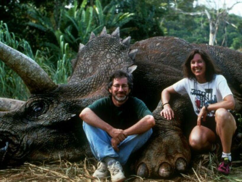 10. Cuando era pequeño sus padres le regalaron un triceratops y el joven Steven lo convirtió desde entonces en su dinosaurio favorito.