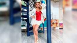 Andrea Legarreta por fin revela su secreto mejor guardado para lucir unas piernas espectaculares