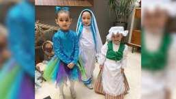 Hijas de Jacky Bracamontes demuestran en Pastorela que heredaron el talento de su mamá