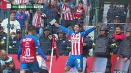 ¡Doblete de Pulido! Chivas está hundiendo 3-1 a Toluca