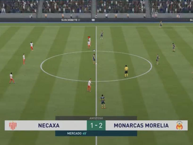 Necaxa vs Morelia, eLiga MX, 2.png