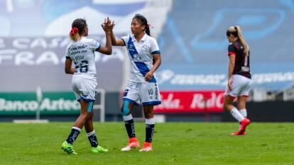 ¡Primera victoria para Puebla femenil!