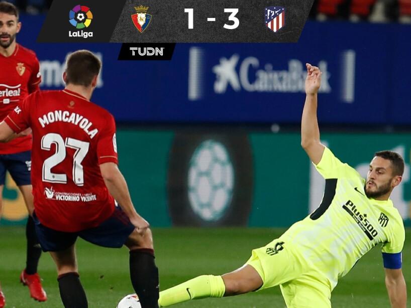 Osasuna 1-3 Atlético