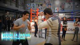 Detrás de cámaras: La pelea de Erasmo contra Erik