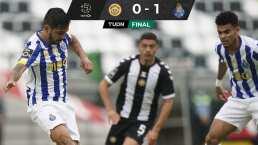 Tecatito pone asistencia, Marchesín ataja penal y Porto vence a Nacional