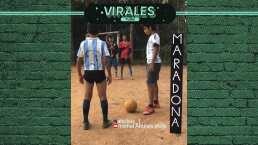Esto será lo mejor que veas hoy, ¡tremendo homenaje a Maradona!