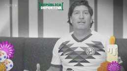 ¡La calaverita de Zamorano! Un goleador fue requerido en el cielo