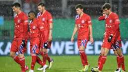 Jugadores del Bayern pasan noche en el aeropuerto