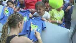 Los niños tuvieron día completo en el Abierto de Monterrey