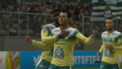 Con doblete de Chapo Montes, gol de Campbell y rematando Iván Rodríguez, el León, a manos de Nico Sosa, se impone como visitante ante Santos controlado por Gerardo Arteaga, con marcador de 4-1.