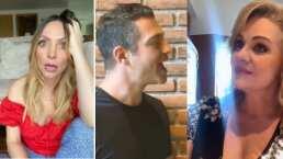 Video: Erika Buenfil le quita el lugar a Erika Zaba y canta junto a Ari Borovoy 'Te quiero tanto, tanto'