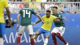 Brasil elimina a México del Mundial