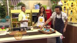 Cocina Chef Oropeza Plátanos al mezcal con helado