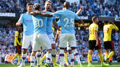 Manchester City se coloca en la segunda posición de la Premier League, acumulando 13 puntos.