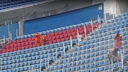 ¡Ya trabajan en la imagen del Estadio Azulgrana!