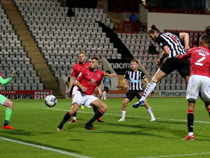 Morecambe v Newcastle United - Carabao Cup Third Round