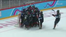 Estados Unidos se presenta con victoria en el hockey sobre hielo