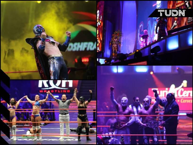 Las estrellas del CMLL dieron una muestra impresionante de sus habilidades en el cuadrilátero.
