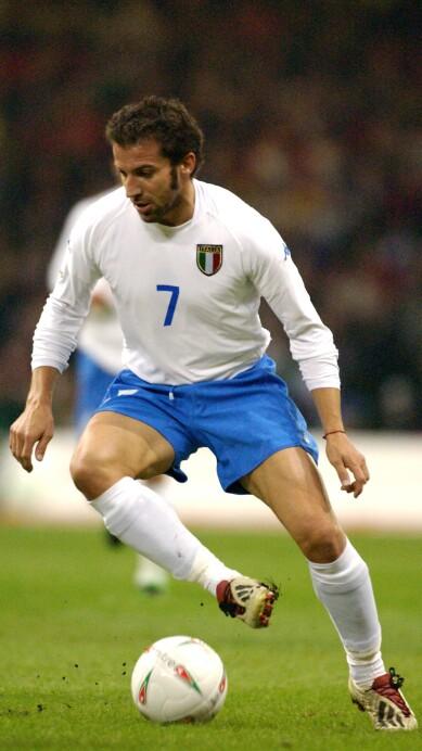 Allessandro Del Piero of Italy