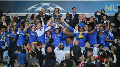 En 2012, el Chelsea logró probar la gloria al consagrarse como campeones por primera vez de la UEFA Champions League.
