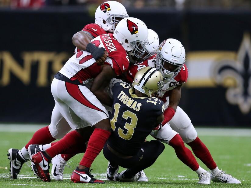 Arizona Cardinals vNew Orleans Saints