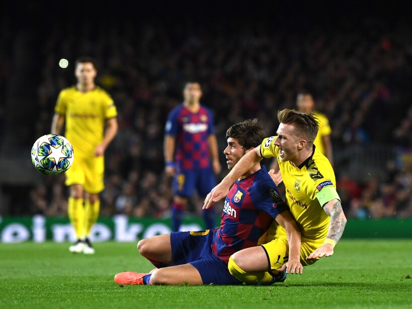 FC Barcelona v Borussia Dortmund: Group F - UEFA Champions League
