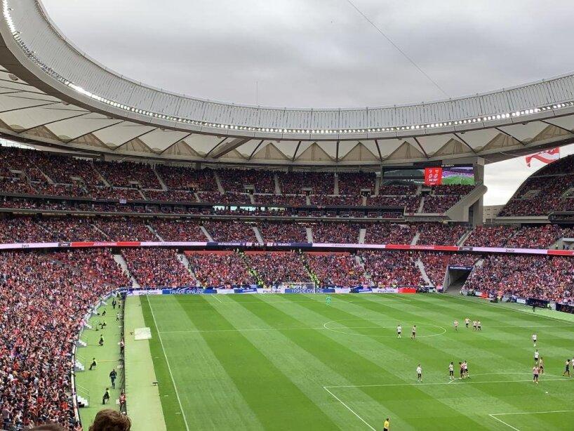 Atlético de Madrid y Valencia empataron por la mínima en el Wanda. Héctor Herrera continúa sin ver actividad.