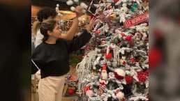 Itatí Cantoral presume el gigantesco árbol de Navidad que decoró con sus hijos