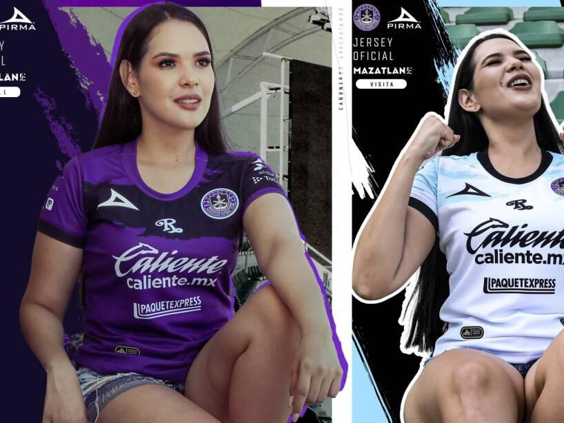 Mazatlán presenta su nueva playera de local y de visitante para el Apertura 2021.