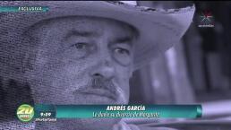 ¡Andrés García devastado tras divorcio!