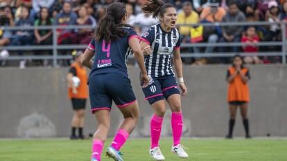 Con goles de Aylin Avilez y Marcela Valera, Monterrey rescata el empate luego de ir abajo en el marcor 2-0.