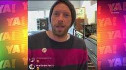 Lasrápidasde Cuéntamelo ya!(Martes 17 de marzo): Cantante de Coldplay ofreció concierto en línea