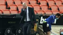 Zidane encuentra culpable tras goleada al Madrid
