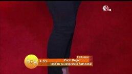 Zuria Vega presume anillo de compromiso