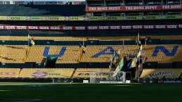 La portería de Tigres, sin dueño previo al juego ante Toluca