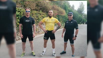 ¿De luchador a ciclista? McGregror se prepara en Francia