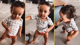 """¡Su canción favorita!: Tadeo, el hijo de Ferdinando Valencia enamora con su baile al ritmo de """"Como Tú No Hay 2"""""""