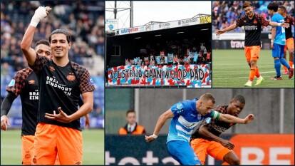 El PSV ha sido una escuadra muy dominante en el histórico entre estos dos equipos.