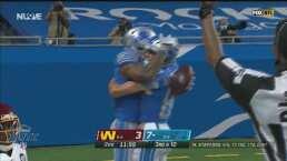 ¡Lo vuelve a hacer! Stafford muestra su precisión y Jones logra el TD