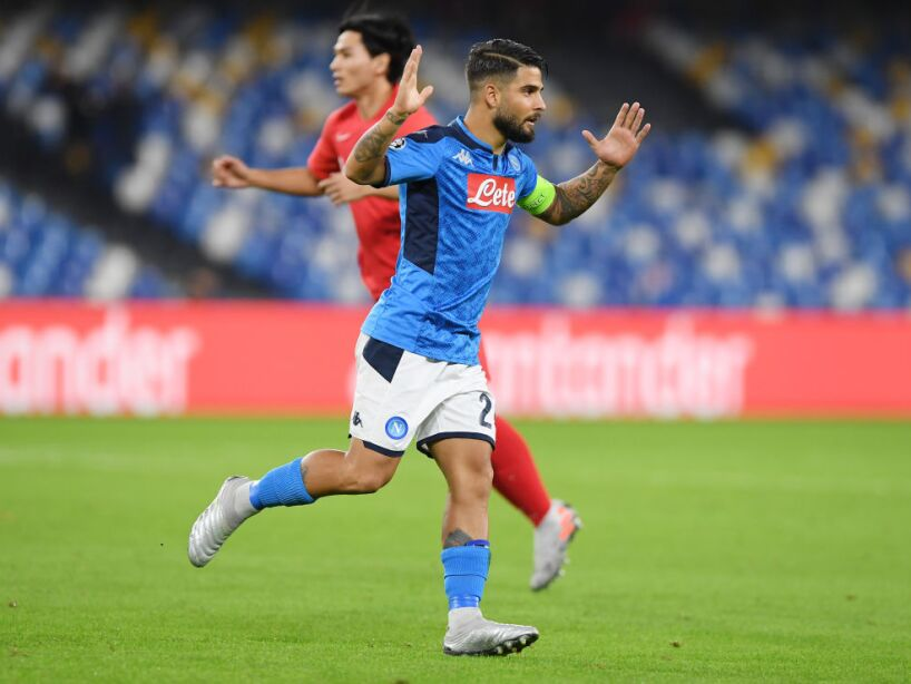 SSC Napoli v RB Salzburg: Group E - UEFA Champions League