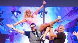 Roxana Castellanos dio shows en algunos 'table dance'
