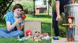 La increíble película de 'Toy Story 3' en stop motion ¡con juguetes de verdad!