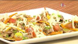 Cocina Chef Gibaja Tostadas de salpicón de ternera
