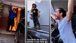 Hijo de Michelle Renaud logra reunir a su papá y a Danilo Carrera en un divertido concierto