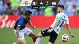 Futbol Retro | Francia mandó a casa a Argentina con un 4-3 en Rusia 2018